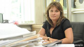 Журналистка Новой газеты Елена Милашина, фото из архива