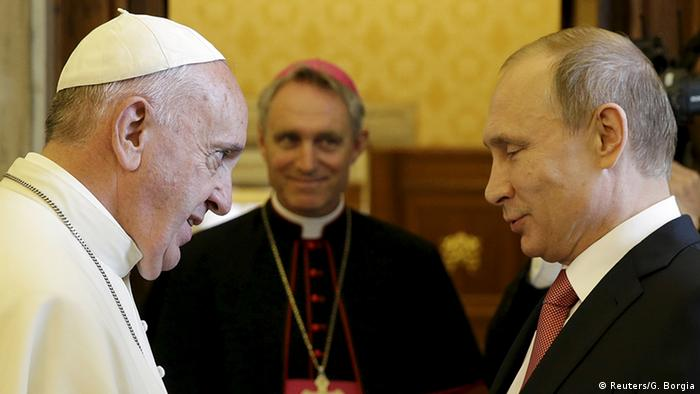 Putin beim Papst