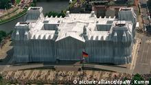 Der von Christo verhüllte Reichstag
