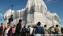 Der von Christo und Jeanne-Claude verhüllte Reichstag