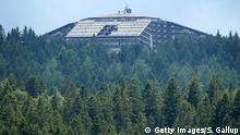 09.06.2015+++ TELFS, AUSTRIA - JUNE 09: The Interalpen-Hotel Tirol, venue of the upcoming Bilderberg conference, stands on June 9, 2015 near Telfs, Austria. Bilderberg members, who include CEOs of major corporations, high-ranking politicians, royalty, media and other influential individuals, are scheduled to meet at the hotel from June 11-14. The Bilderberg group is known for its secrecy. (Photo by Sean Gallup/Getty Images)
