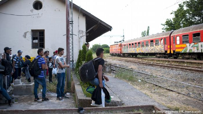 Bildergalerie Mazedonien Transitland für Flüchtlinge