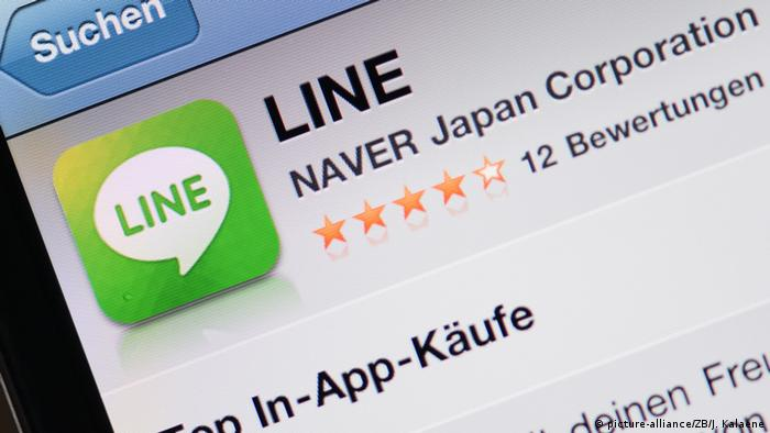 Japan Line Messenger (picture-alliance/ZB/J. Kalaene)