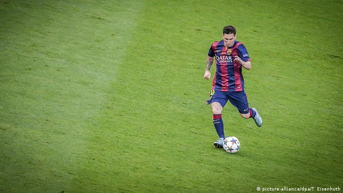 Lionel Messi (Thomas Eisenhuth/dpa)