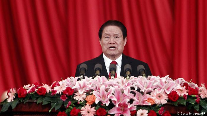 China Zhou Yongkang Politiker (Getty Images/AFP)