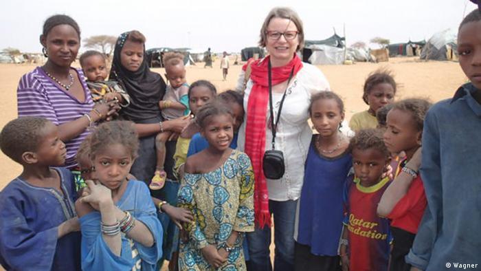 Christina Wagner au Niger