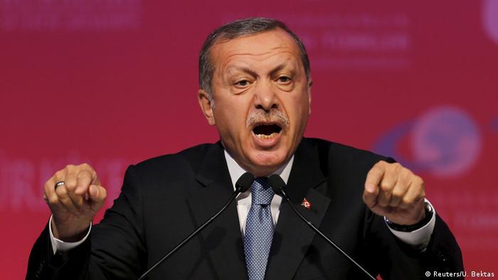 Türkei Erdogan Rede in Ankara