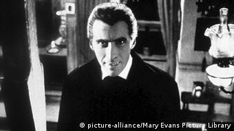 Filmszene Dracula mit Christopher Lee