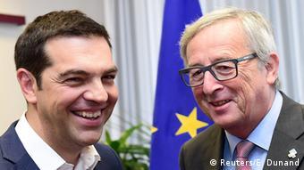 EU Griechenland Tsipras bei Juncker