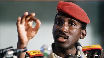 Thomas Sankara Foto: AFP +++(c) dpa - Report+++