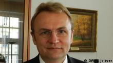 Ukraine Andriy Sadoviy Bürgermeister von Lemberg