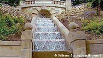 Galatea Brunnen in Stuttgart