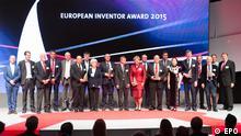 Bildergalerie EU Erfinderpreis Finalisten Gruppenfoto