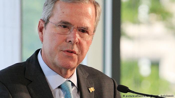 USA Potentieller republikanischer US-Präsidentschaftskandidat Jeb Bush