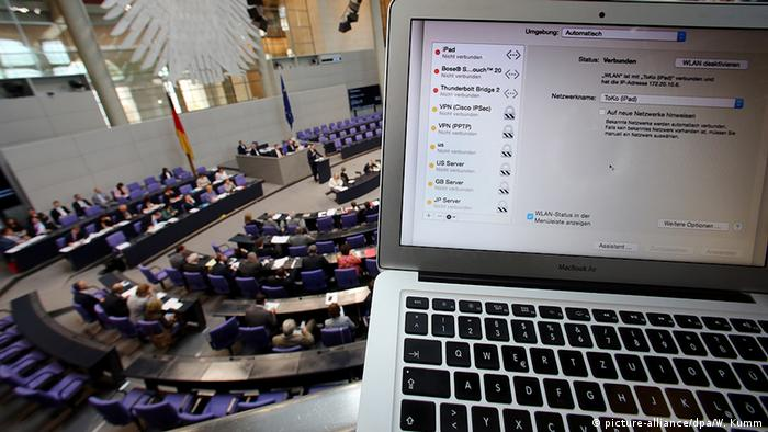 Deutschland Bundestag Debatte IT-Sicherheitsgesetz IT-Sicherheitsgesetz