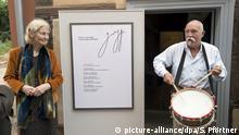 Deutschland Eröffnung des Günter Grass Archivs in Göttingen