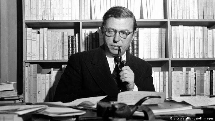 Frankreich Jean-Paul Sartre Philosoph (picture alliance/AP Images)