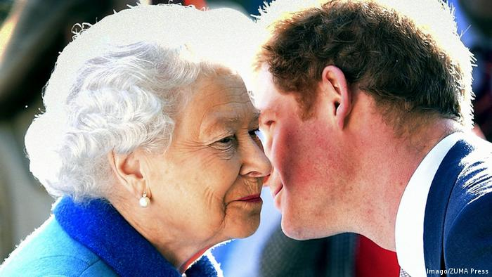 Queen Elizabeth and Prince Harry (Imago/ZUMA Press)
