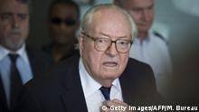 Frankreich Jean-Marie Le Pen Front National Ehrenpräsidentschaft