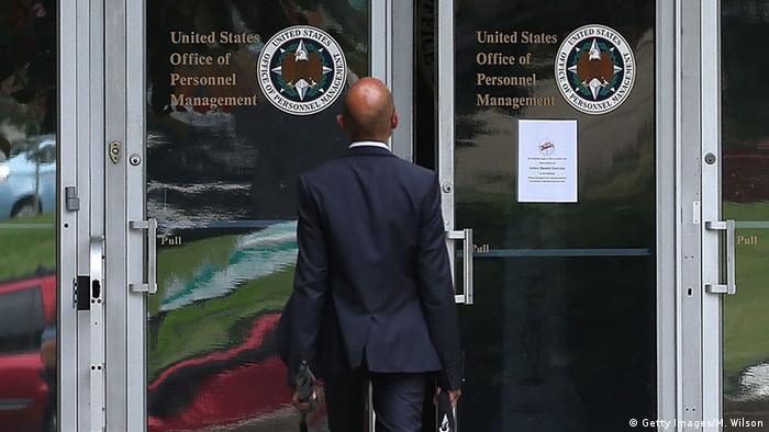 USA US-Bundesverwaltung OPM in Washington