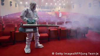 Südkorea MERS (Getty Images/AFP/Jung Yeon-Je)