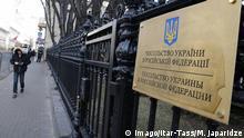 Russland Botschaft der Ukraine in Moskau