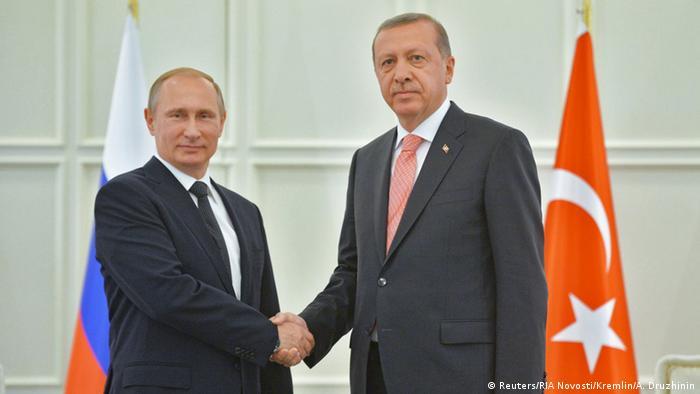 Зустріч президентів Володимира Путіна та Реджепа Таїпа Ердогана в Баку в червні 2015 року