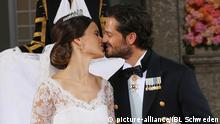 Schweden Hochzeit von Prinz Carl Philip und Sofia Hellqvist