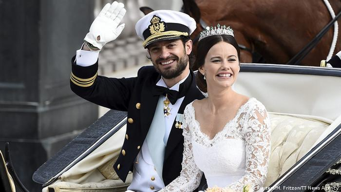Prince Carl Philip and Princess Sofia Hellqvist