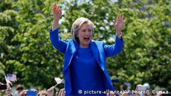 USA Hillary Clinton Präsidentschaftskandidatin
