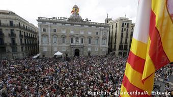 Spanien Barcelona Ernennung Bürgermeisterin Ada Colau