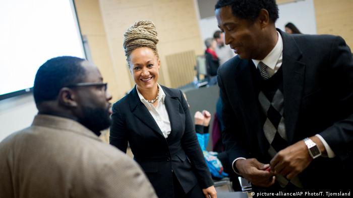 USA NAACP Rachel Dolezal (picture-alliance/AP Photo/T. Tjomsland)