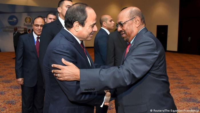 Ägypten Präsident al-Sisi trifft al-Baschir
