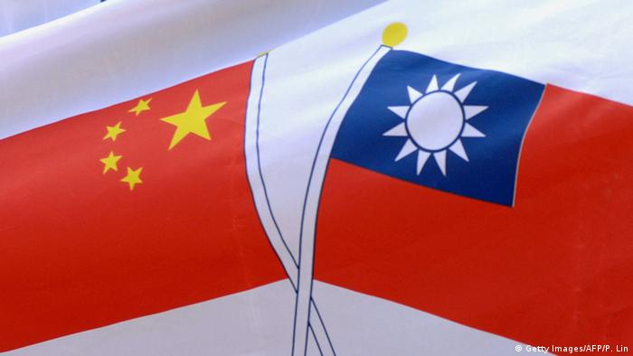Flagge China und Taiwan (Getty Images/AFP/P. Lin)