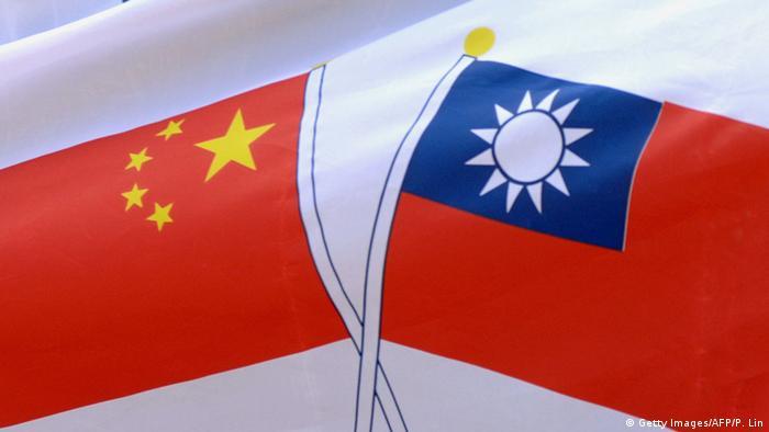Flagge China und Taiwan (Foto: AFP)