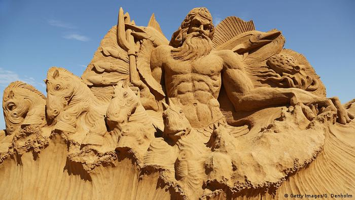 Australien Sandskulpturenausstellung in Melbourne