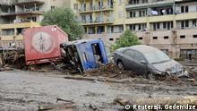 Georgien Überflutung in Tiflis