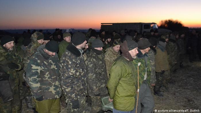 Обмен пленными на востоке Украины (Фото из архива)