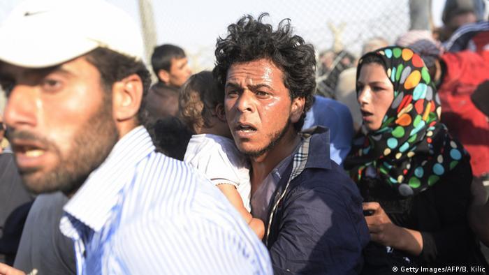 داشتن ویزای معتبر برای ورود به ترکیه شامل پناهجویان سوری نمیشود
