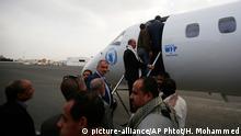 Jemen Politiker auf dem Weg nach Genf