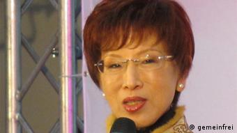 Taiwan Hung Hsiu-Chu Präsidentschaftskandidatin