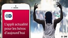 DW News App französisch (DW)