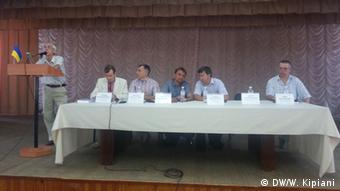 Президія конференції з перейменування міст, що відбулась у Кіровограді