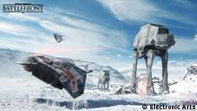 Titel: Szene aus dem Videogame Starwars Battlefront Foto: Screenshot, ©Electronic Arts