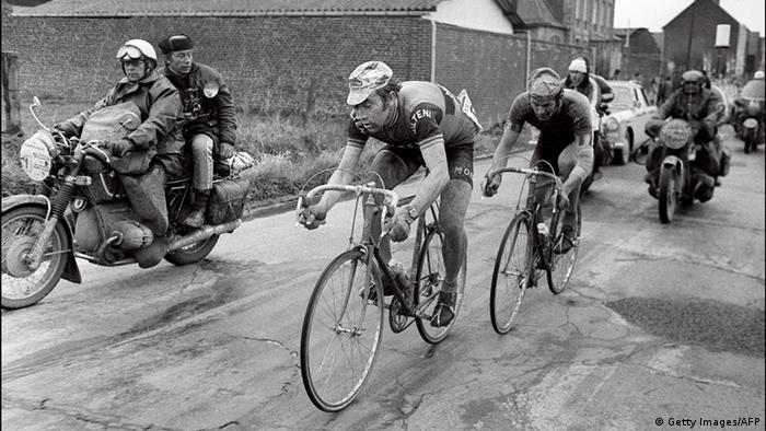 Radrennfahrer Eddy Merckx