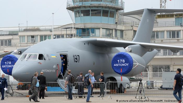 Frankreich Luftfahrtmesse in Le Bourget