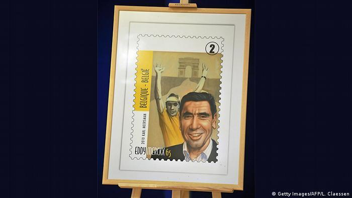 Radrennfahrer Eddy Merckx Briefmarke
