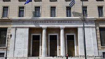Bank in Griechenland (Foto LOUISA GOULIAMAKI/AFP/Getty Images(