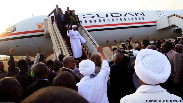 Omar al-Bashir in Sudan