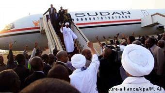 Omar al-Bashir in Sudan (picture-alliance/dpa/M. Ali)